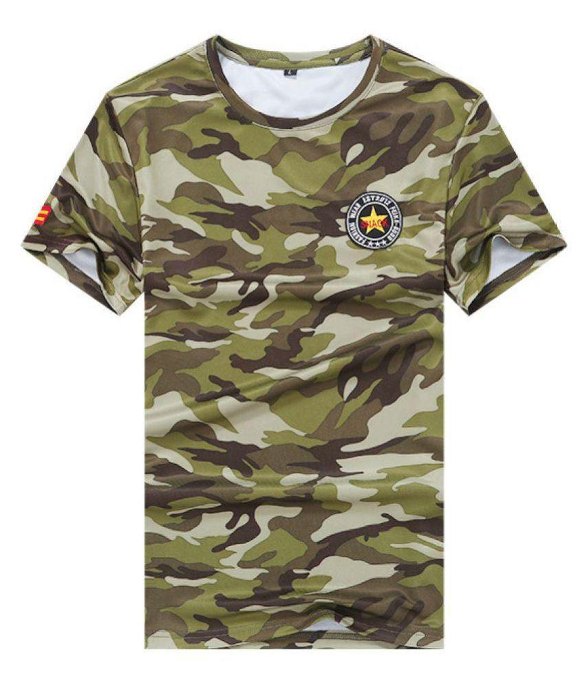 Jhakaas Grey Half Sleeve T-Shirt
