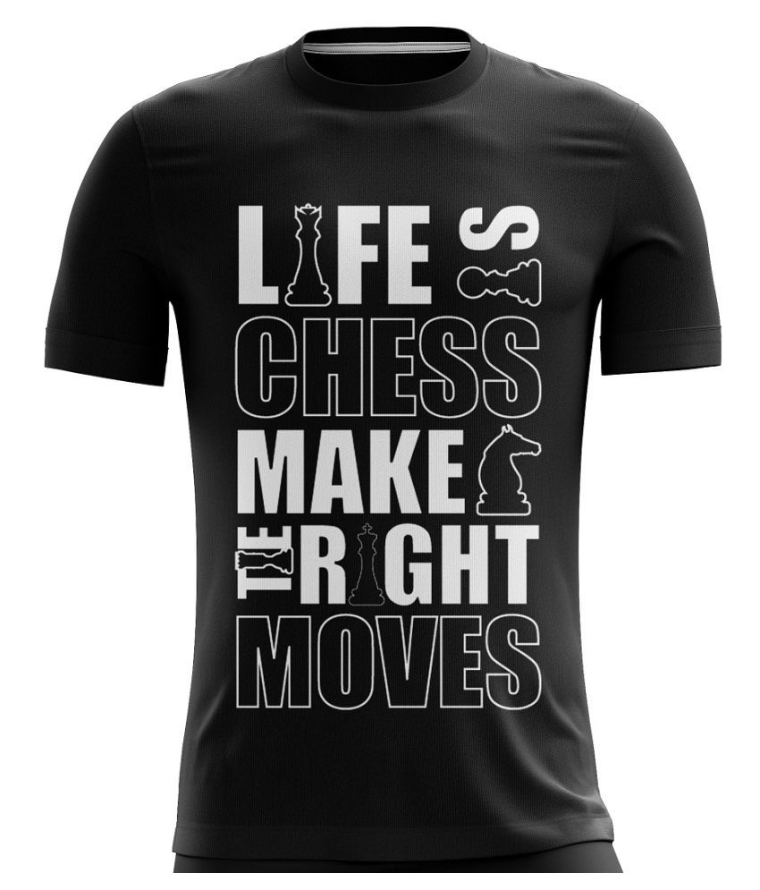 Triumph Black Half Sleeve T-Shirt Pack of 1