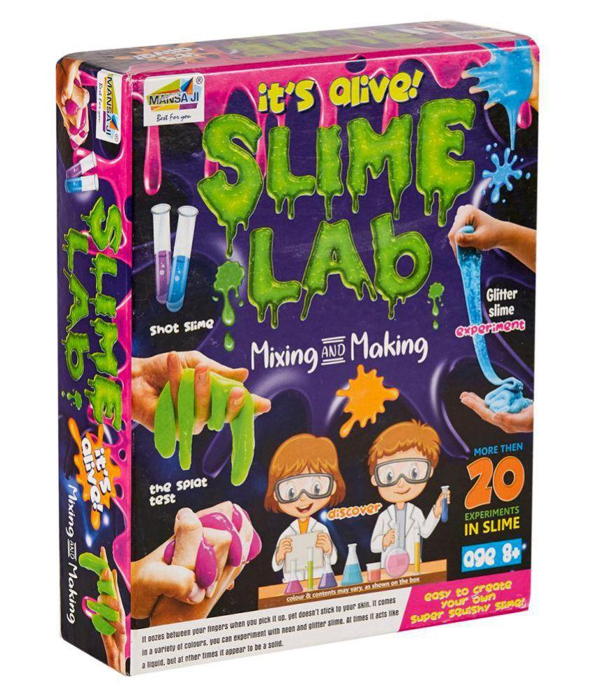 NHR Mansaji Slime Making Kit for Kids