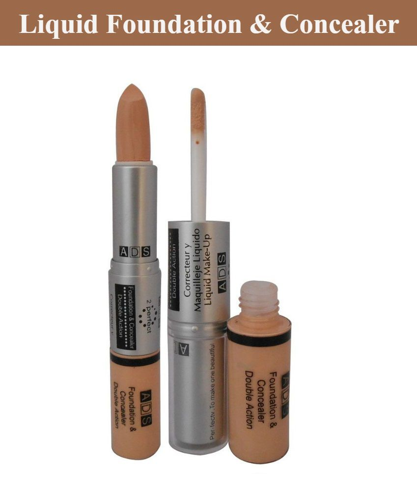 a4d7b0324 ADS Foundation and Concealer Double Action: Buy ADS Foundation and  Concealer Double Action at Best Prices in India - Snapdeal