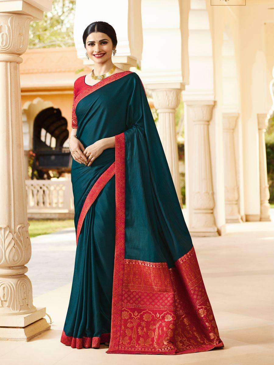 Bhurakhiya Fab Green Silk Saree