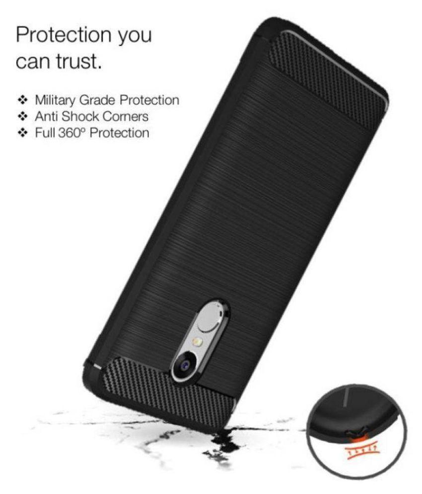 ... Xiaomi Redmi Note 4 Soft Silicon Cases Wow Imagine - Black ...