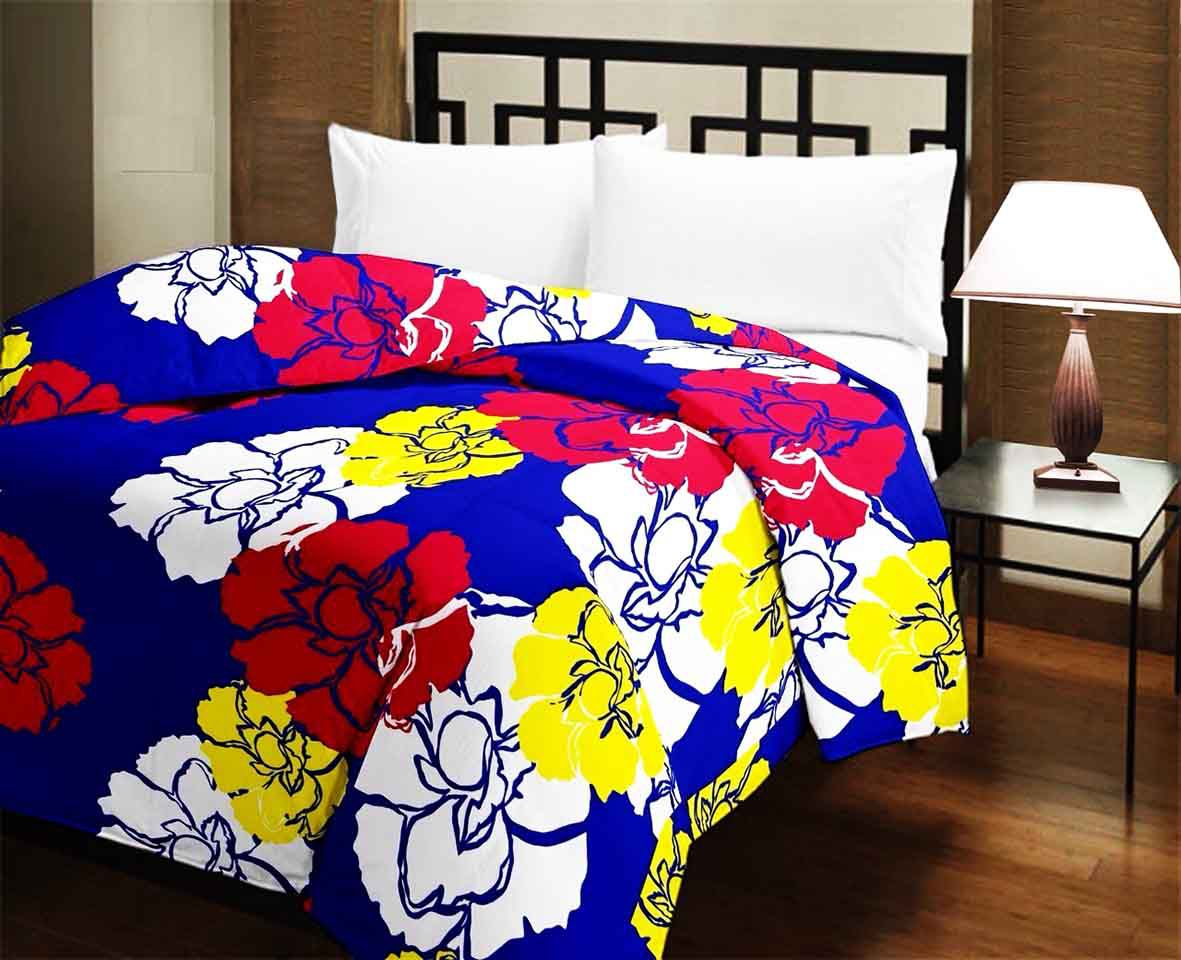 Bombay Spreads Single Poly Cotton Printed Multi Comforter