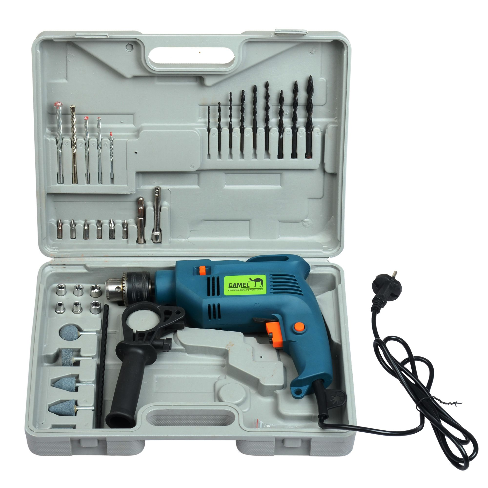 Camel 13Mm 500W Impact Drill Machine Tool Kit/Box With ...
