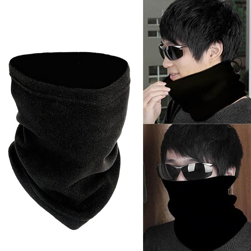 3 in 1 Scarf Snood Neck Head Wear Bandanas Mask Motorbike Bike Warmer Cap Winter