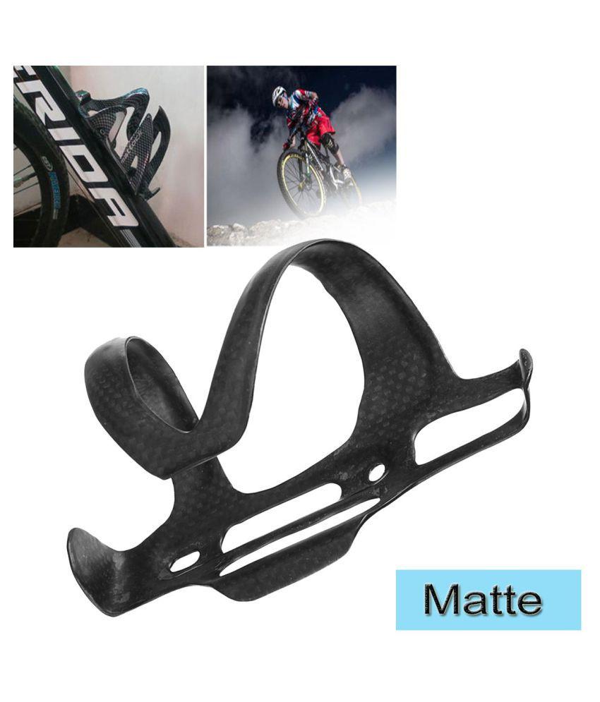 Full Carbon Fiber Bicycle Bike Water Bottle Holder Adjustable Side Open Cage New