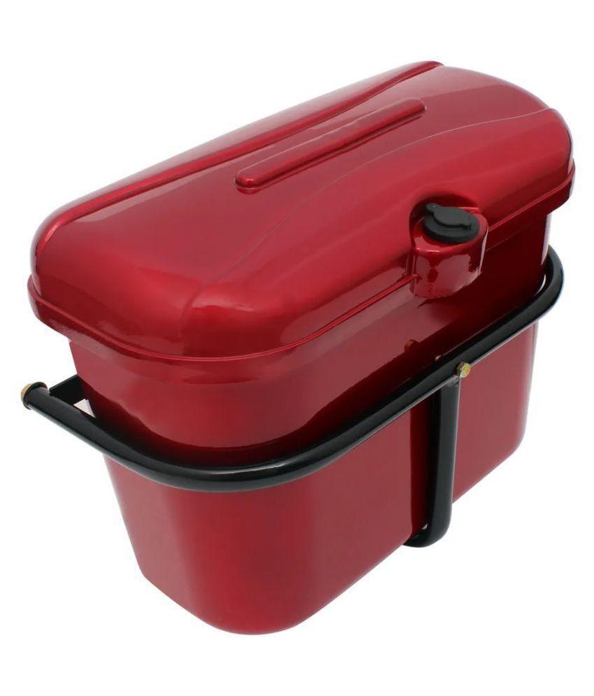 Carizo Bike Side Luggage Box Red for Hero Passion
