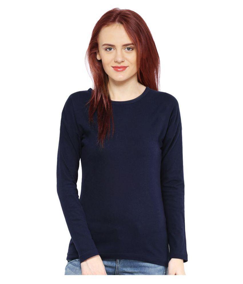 Magrechee Cotton Navy T-Shirts