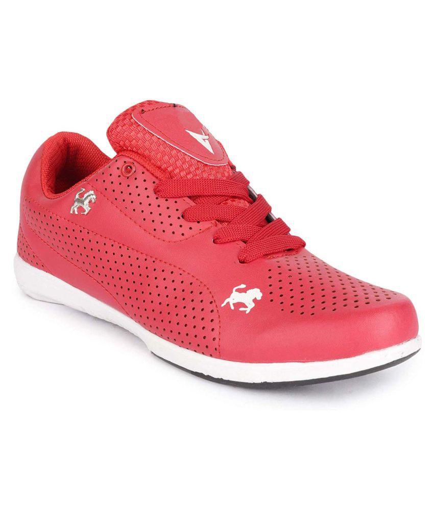 SIMATA Light Weight Running Shoes Red