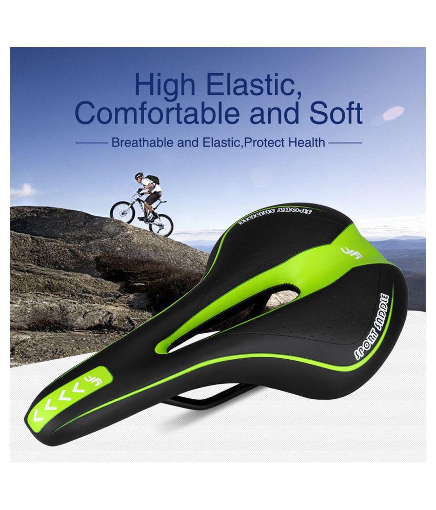 Comfort Wide Big Bum Bike Bicycle Sporty Soft Pad Saddle Seat Gel Cruiser Extra