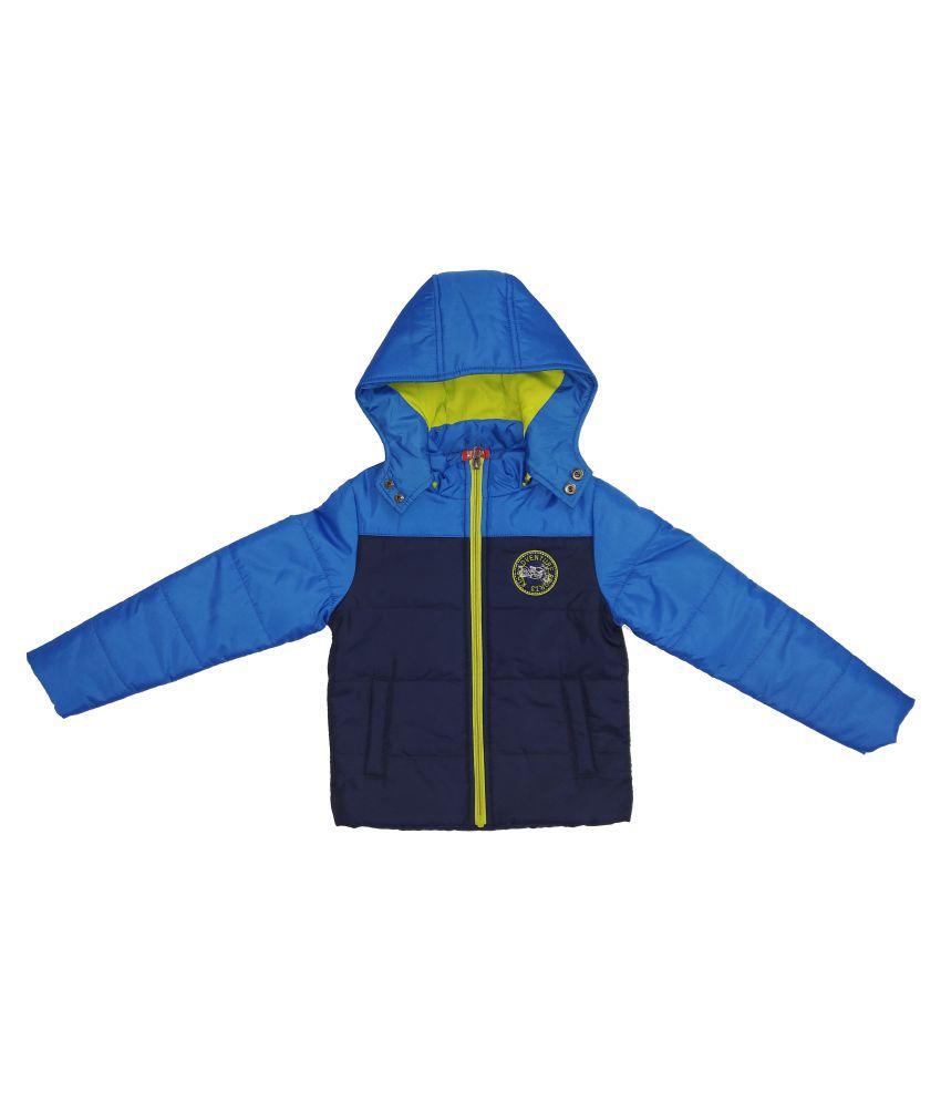 Kids-17 Boys Fullsleeves Winter Pollyfill Jacket