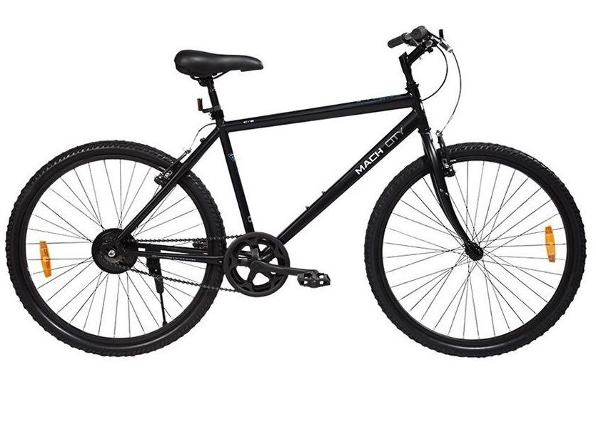 BSA Hercules Mach City I Bike 26 T Single Speed Cycle Adult Bicycle Adult Bicycle/Man/Men/Women