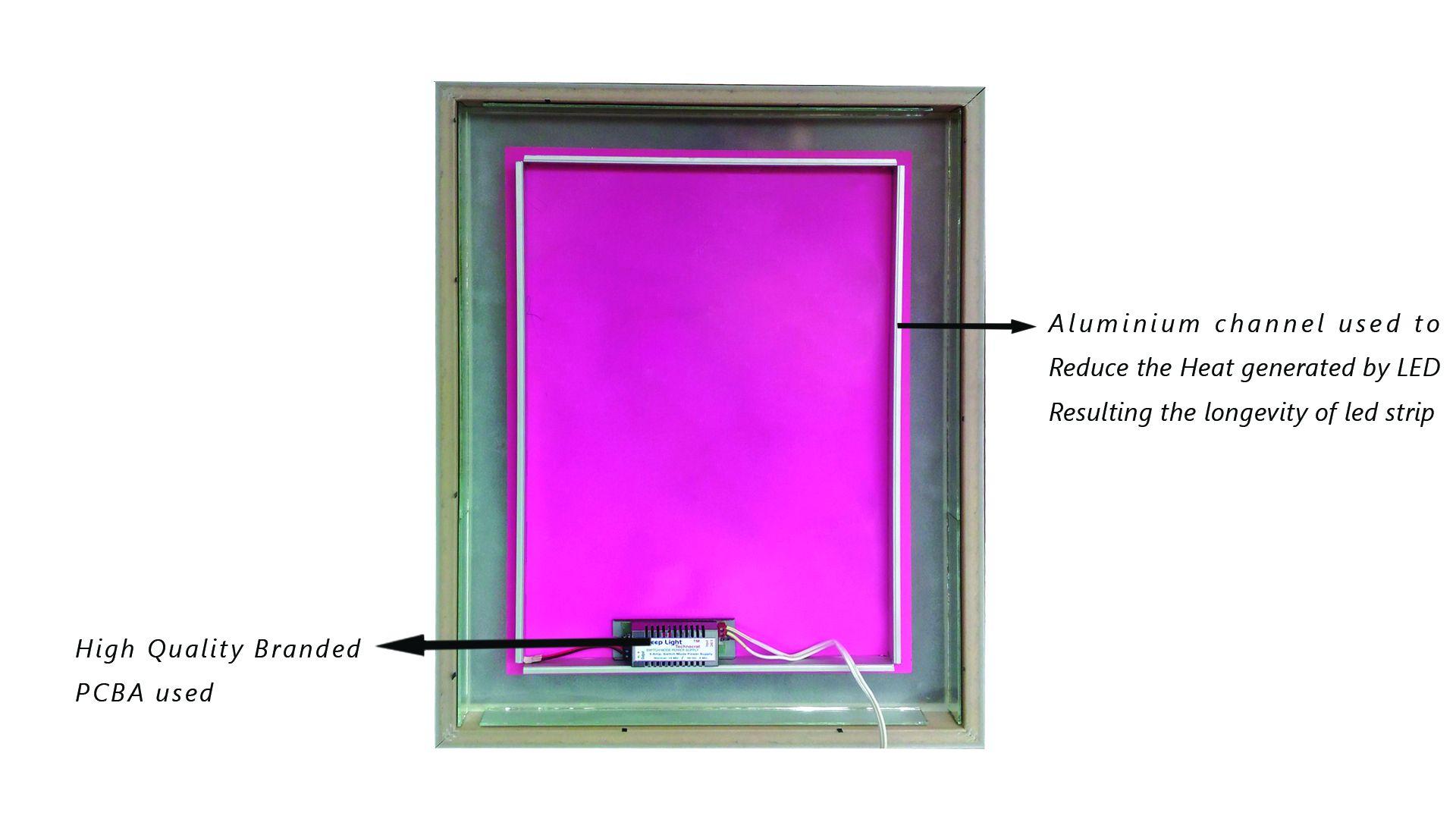 Elegant Arts & Frames Mirror Wall Mirror ( 60 x 45 cms ) - Pack of 1