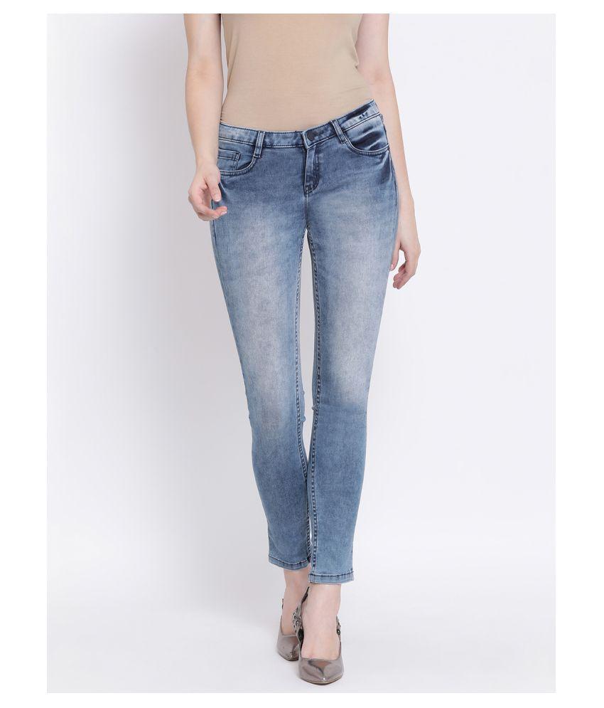 Crimsoune Club Cotton Jeans - Blue