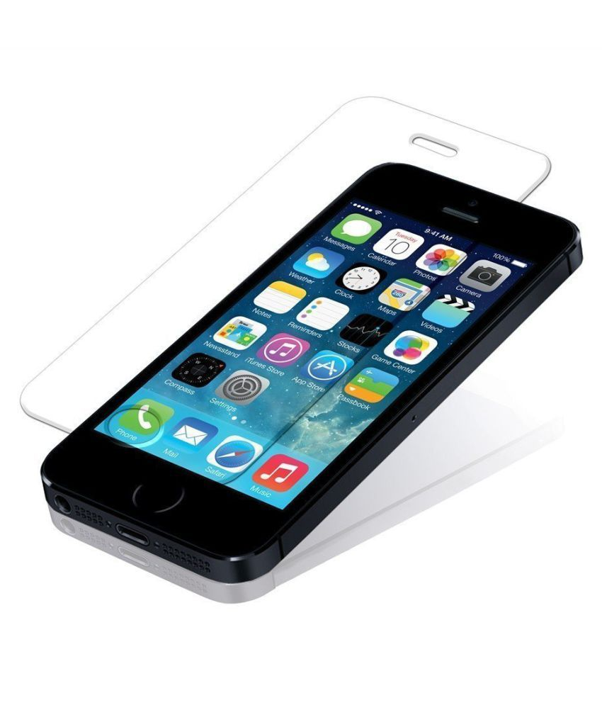 Apple iPhone 5S Tempered Glass Screen Guard By Catz Material: 9H rated Tempered Glass