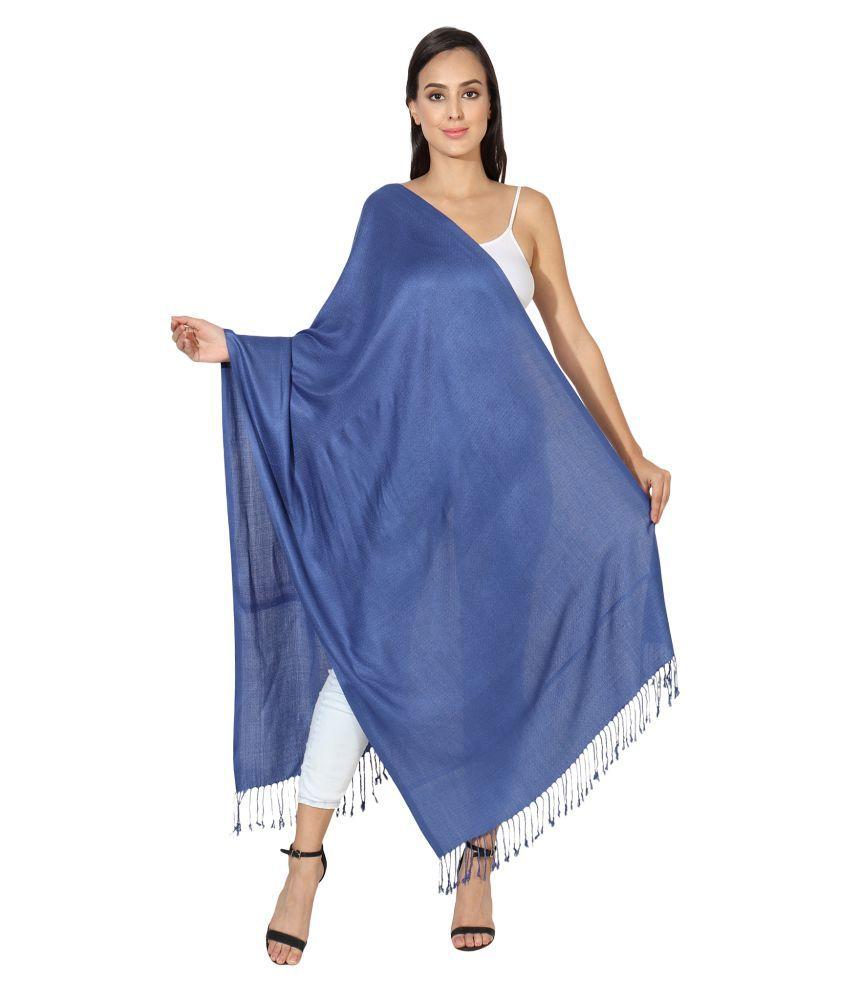 MUFFLY Blue Shawl