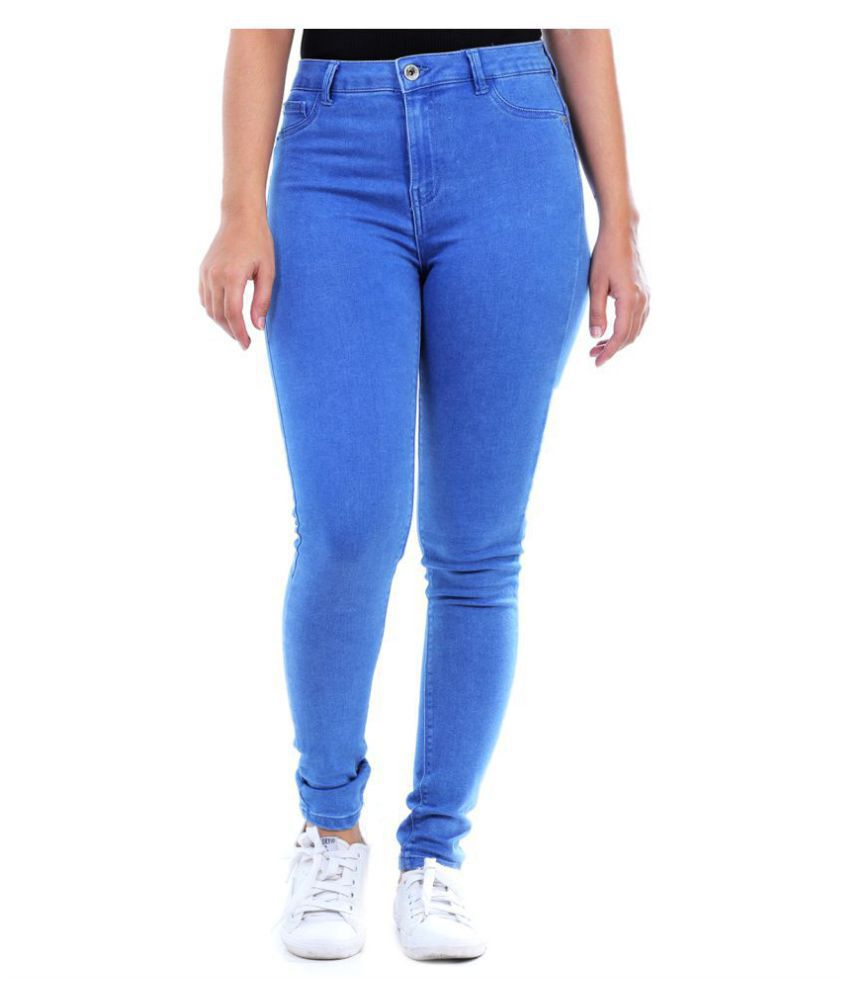 Malachi Denim Lycra Jeans - Blue