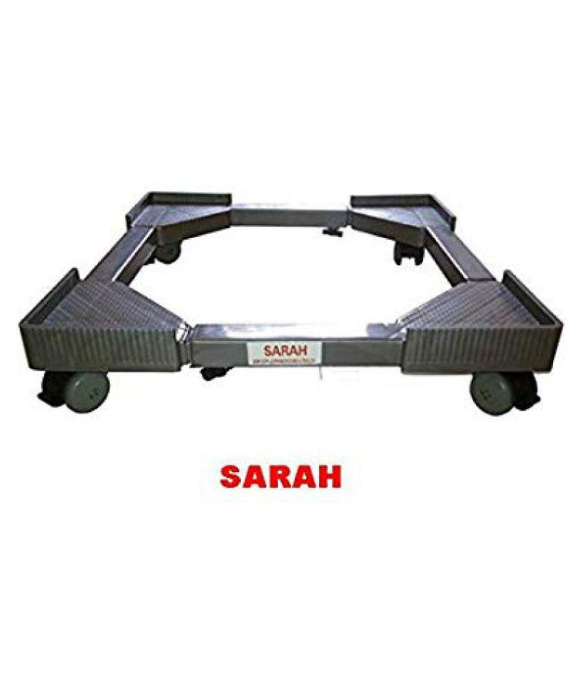 Sarah Plastic Washing Machine Accessories Adj. Top Load Fully Auto Washing Machine Trolley   Assorted