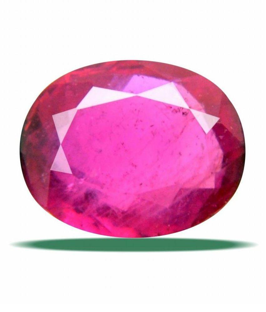 DeepMines 7 -Ratti IGL Red Ruby Semi-precious Gemstone