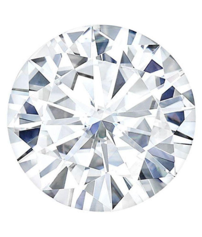 1.02 CARAT VVSI ROUND CUT G-H COLOR LOOSE DIAMOND MOISSANITE BY LAB CERTIFIED