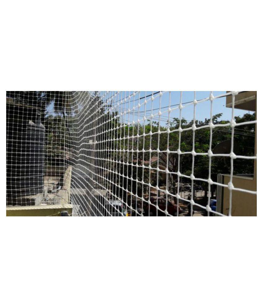 dhunwa kalan store Anti Bird Net (10x8)ft Anti Bird & Animal Fence White W