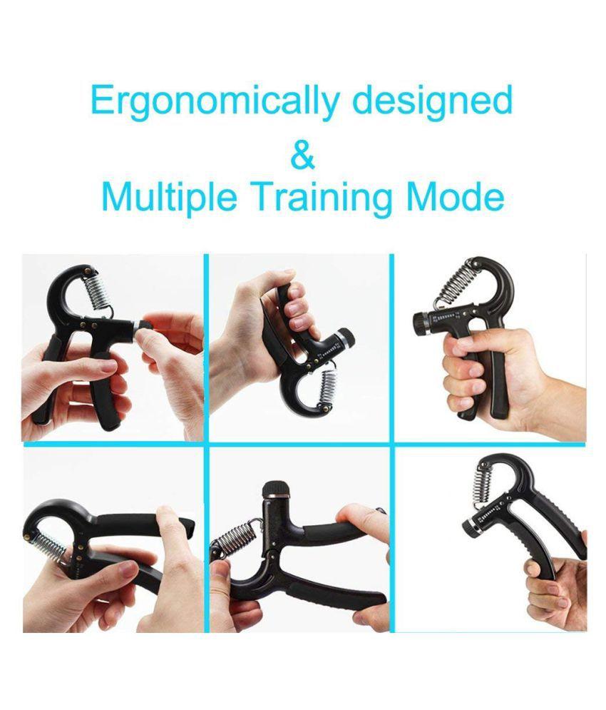 2PCS Hand Exerciser Finger Stretcher Grip Strength Wrist Exercise Finger Trainer