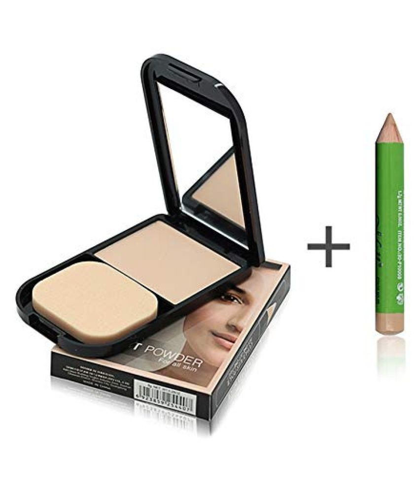 ME NOW COMPACT POWDER With Concealer Pressed Powder Medium SPF 15 8 g