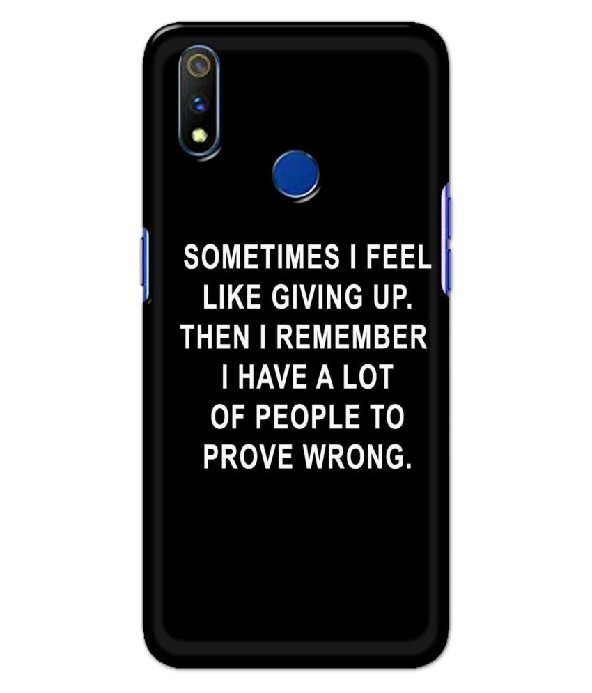 Realme 3 Pro Printed Cover By UnboxJoy Gifts