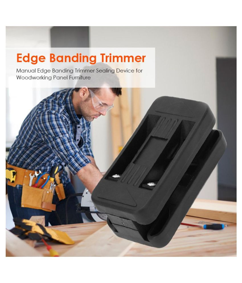 Manual Edge Banding Trimmer Sealing Device for Woodworking Panel Furniture