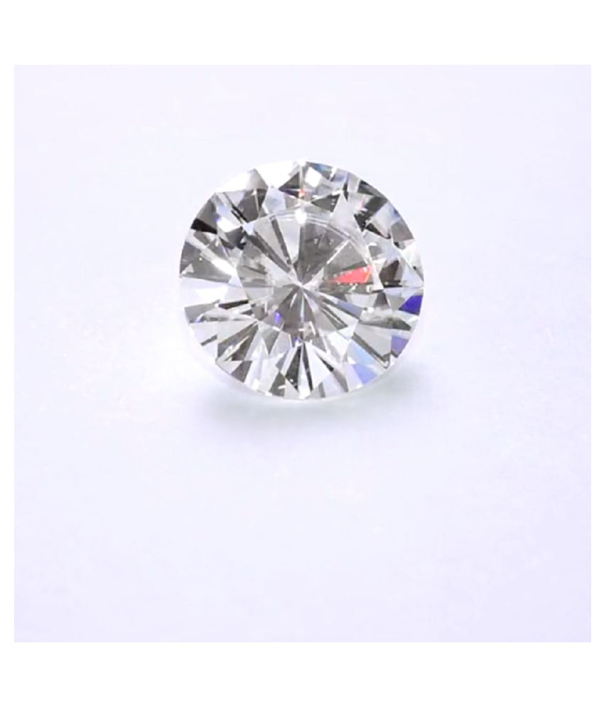 2 CARAT EXCELLENT CUT & CLARITY GEMSTONE REAL MOISSANITE BY LAB CERRTIFIED
