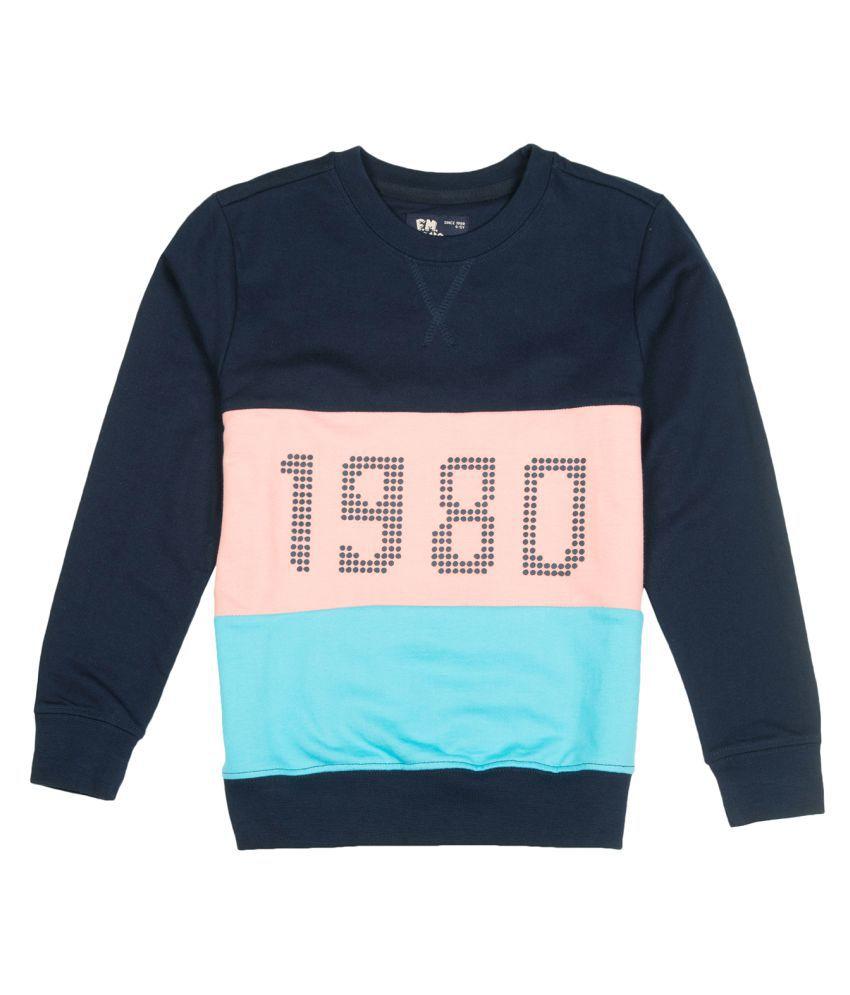 Boys Zip Up Hooded Sweatshirt