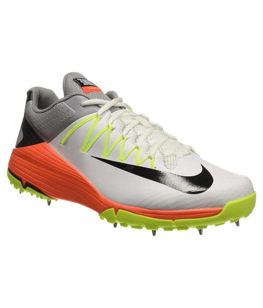 Nike Domain 2 White Cricket Shoes - Buy