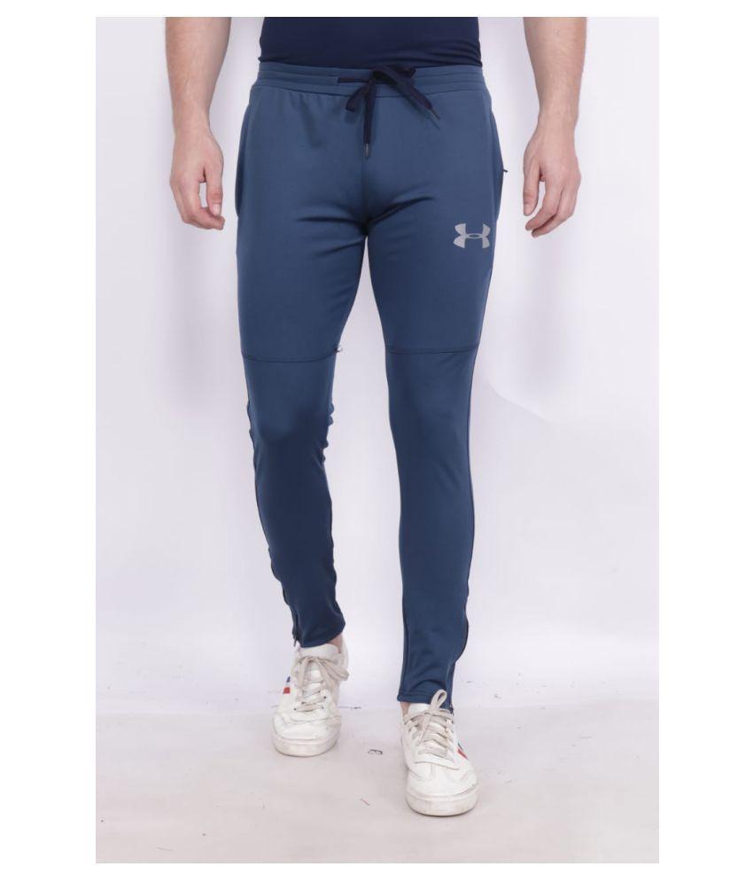 underarmor Polyester Blue Apparel Bottomwear M