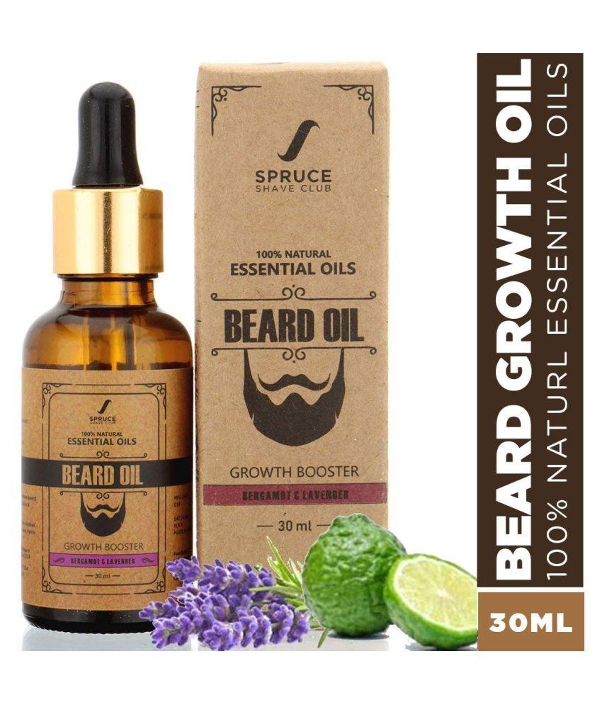 Spruce Shave Club Growth Beard Oil Bergamot 30 ml
