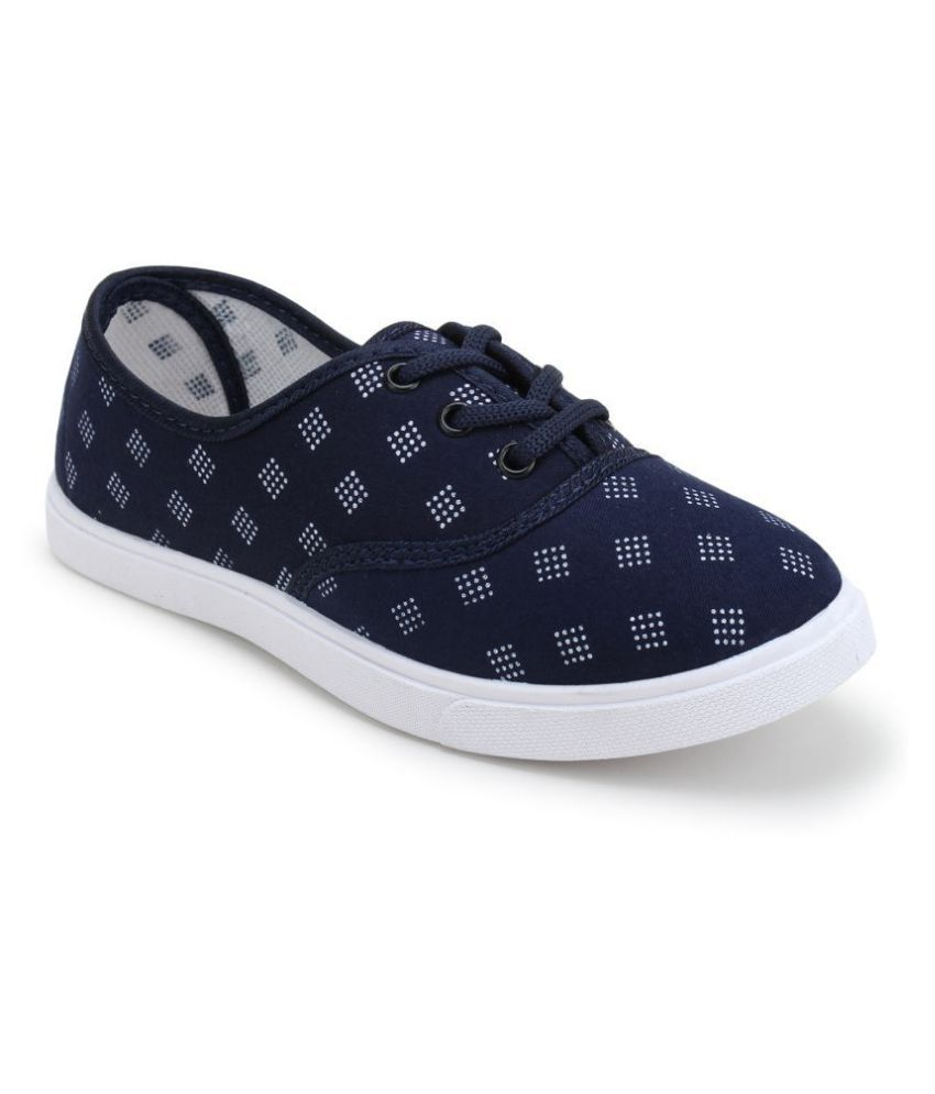 Comfort Walk Blue Casual Shoes
