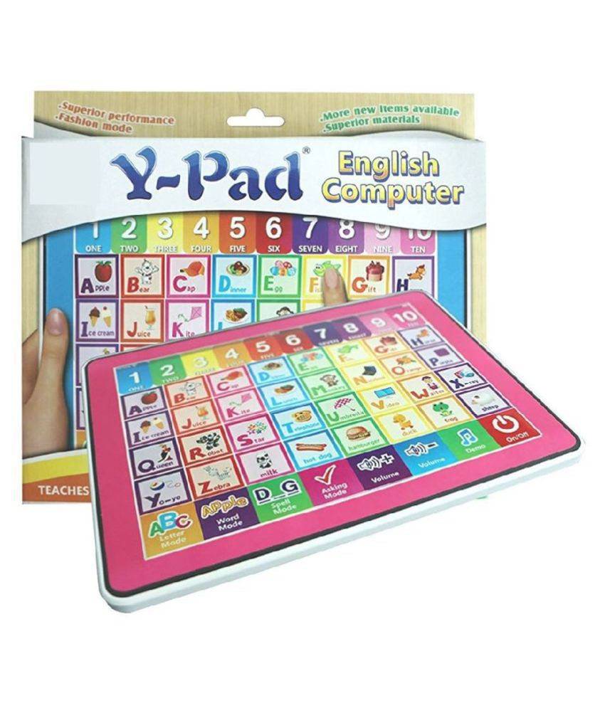Y-Pad Smart English Learning Educational Tablet for Kids Walk Over Totally Toys – Y-Pad English Learner Computer