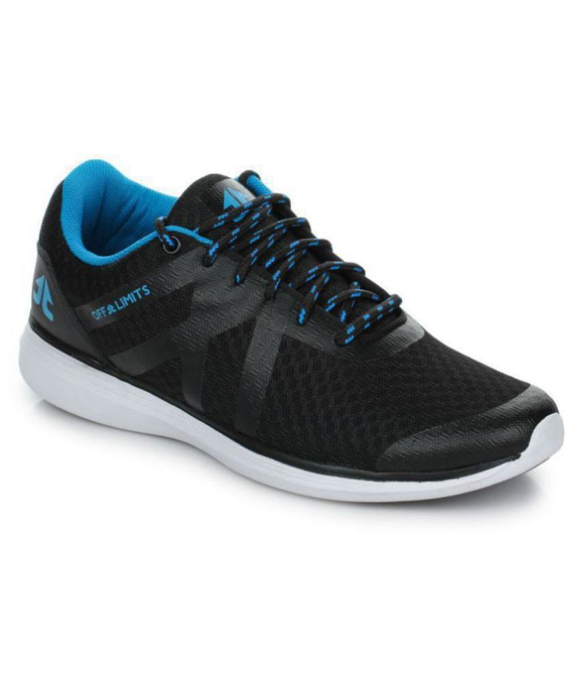 OFF LIMITS Racer Black Running Shoes