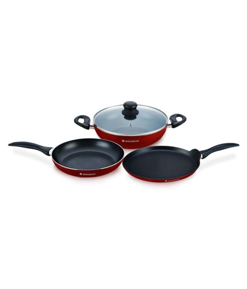 Wonderchef Topaz 4 Piece Cookware Set