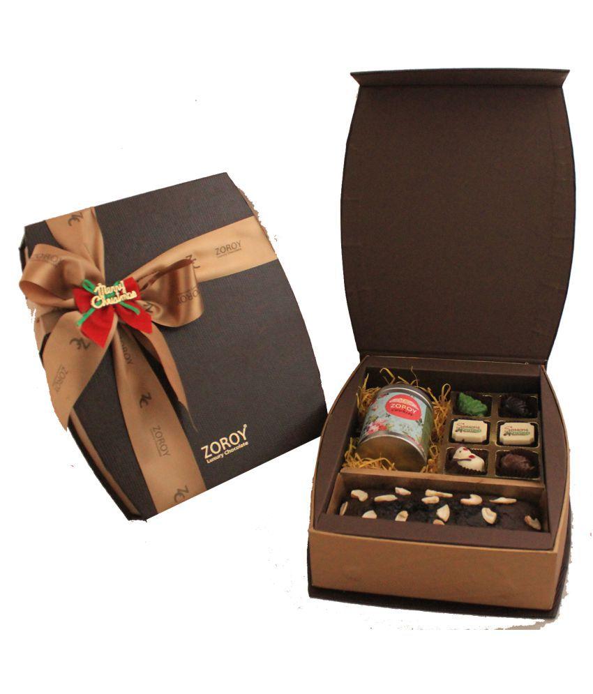 Zoroy Luxury Chocolate Assorted Box Christmas curve box Combo 480 gm