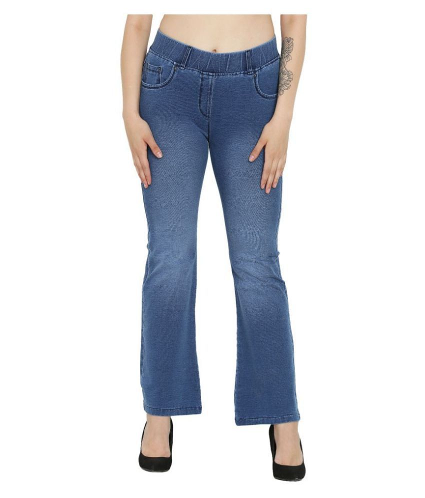 Westwood Denim Lycra Casual Pants