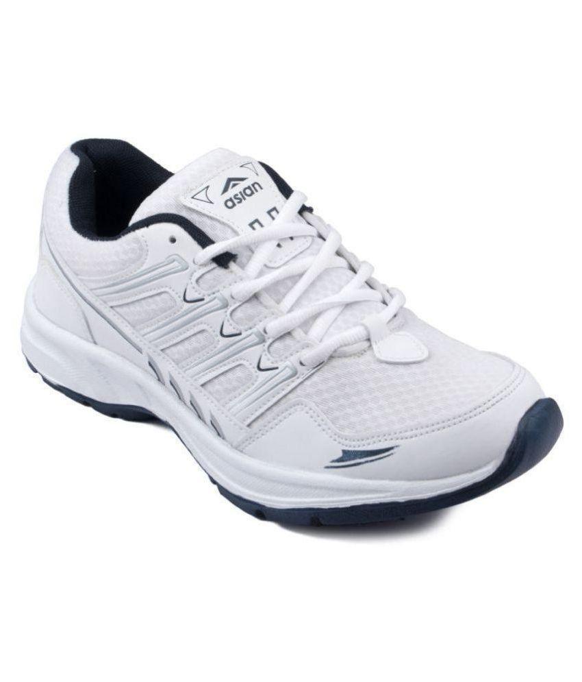ASIAN WONDER-11 White Running Shoes