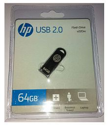 HP V220W 64GB USB 2.0 Utility Pendrive Pack of 1
