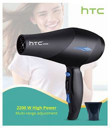 HTC EF-2012 Hot And Cold Hair Dryer ( Black )