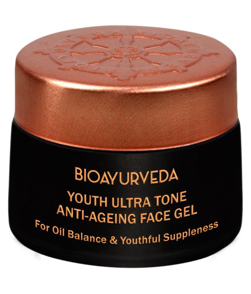 BioAyurveda Youth Ultra Tone Anti-Ageing Face Gel Moisturizer 40 gm