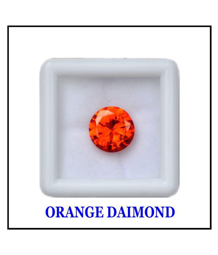 Maya Gems/ Orange 6.2-Carat Crystal American Orange Diamond