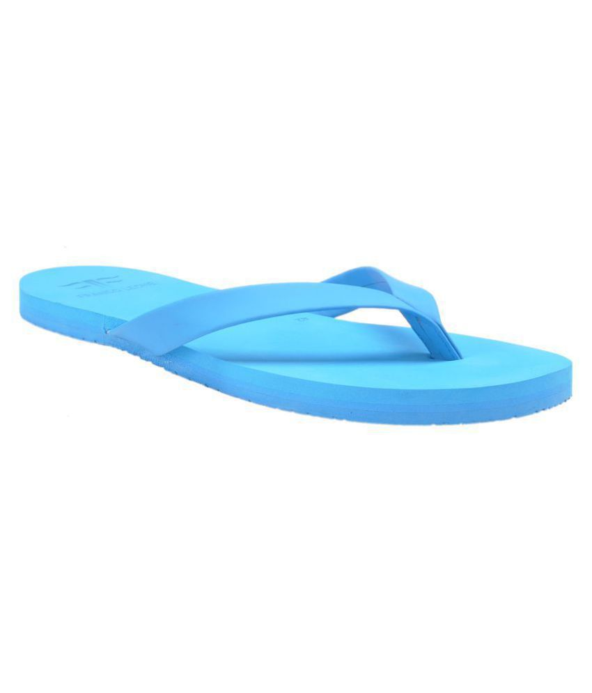 Franco Leone Blue Daily Slippers