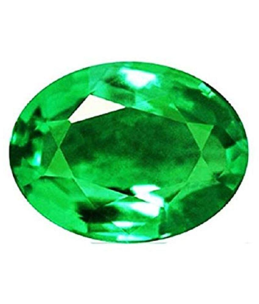 Moonlightjewels99 5.05 -Ratti Self certified Green Emerald Precious Gemstone