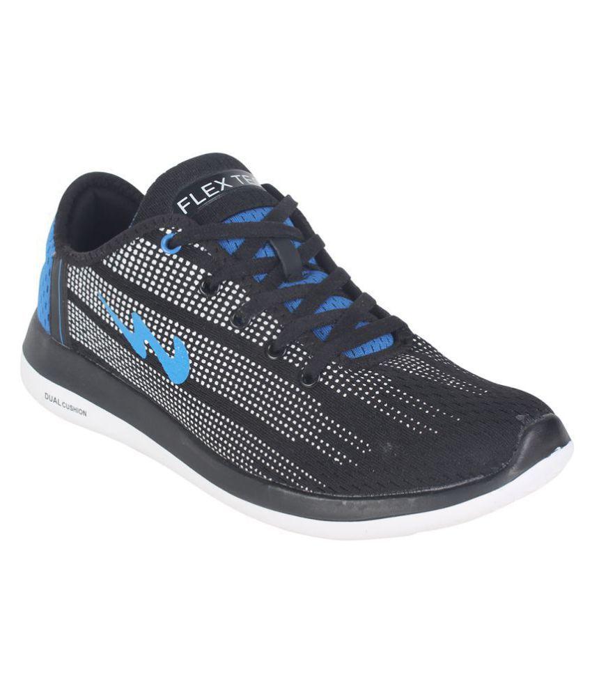 Campus BATTLE X-10 Black Running Shoes