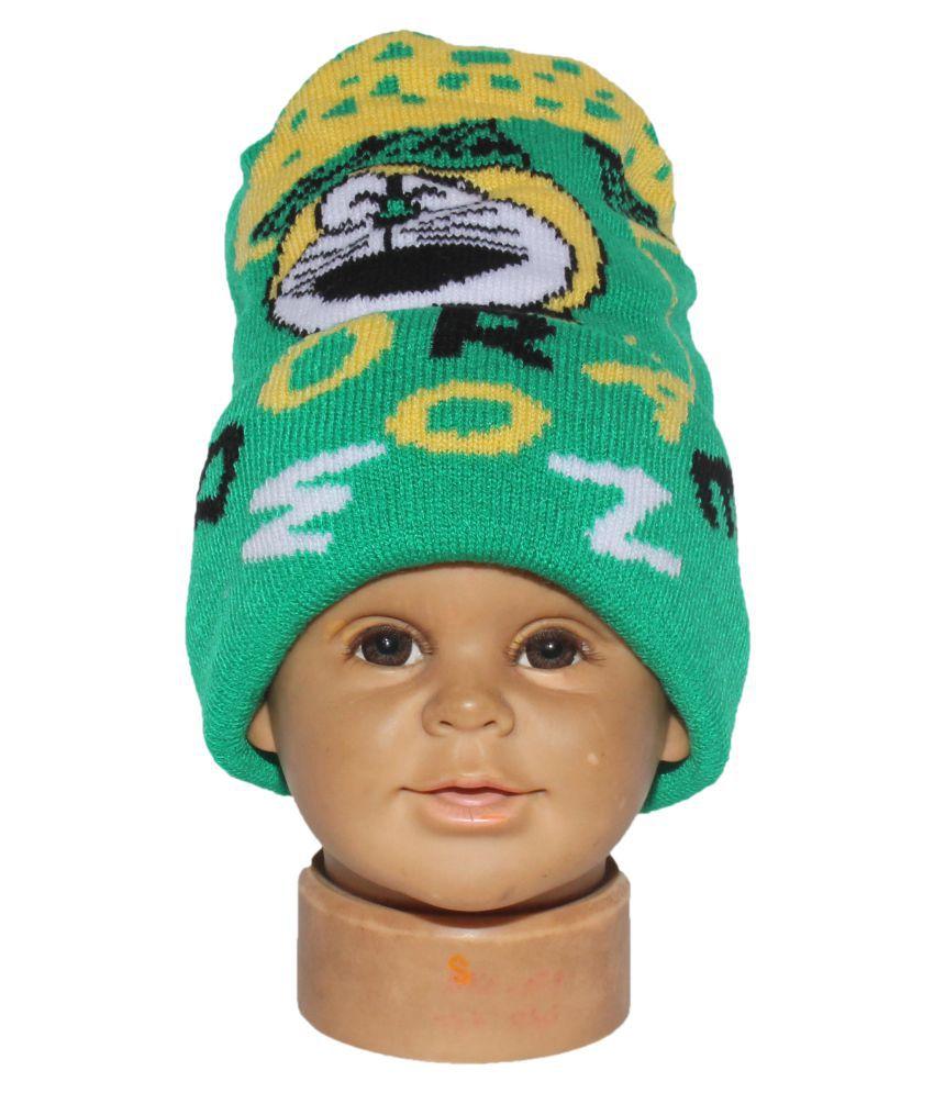 Goodluck Baby Woolen Caps