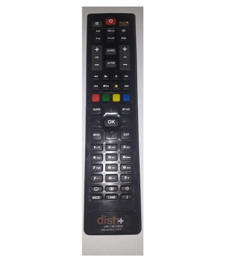 Gurleen traders dishplus hd DTH Remote Compatible with DISHTV